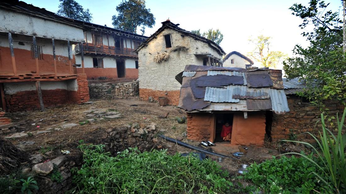 Nepal girls sleep in 'menstruation huts' despite ban, study finds