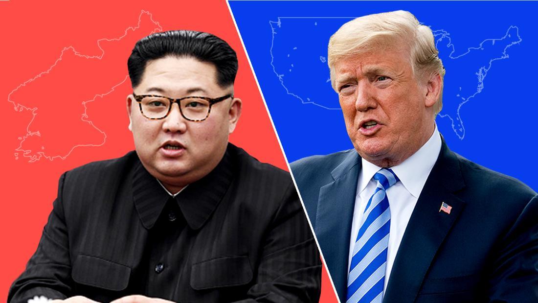 Kim Jong Un and Trump trade barbs
