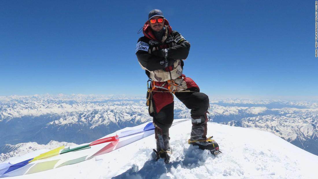 Nirmal Purja: Record breaking Nepalese climber shocked by climate change effects