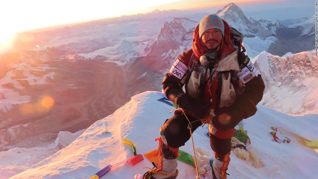 Ex-special forces soldier breaks climbing record
