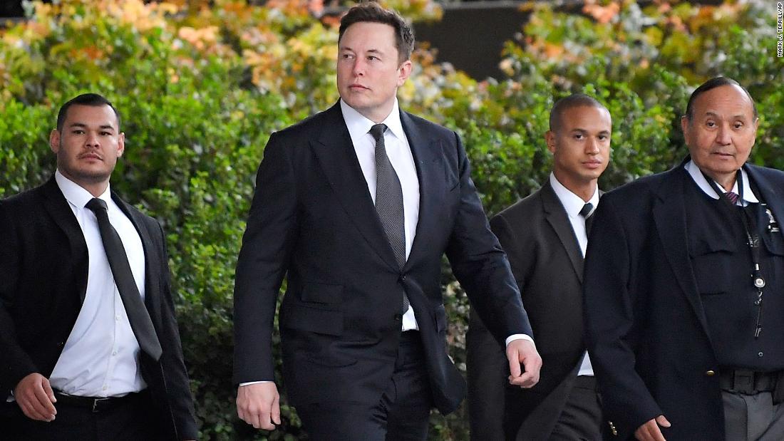 British diver suing Elon Musk gets emotional during his testimony about 'pedo guy' tweet