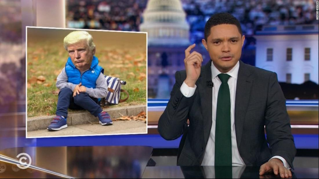 Late-night hosts mock Trump's response to open mic moment