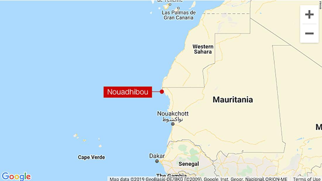 At least 58 people killed as migrants' boat sinks off Mauritania coast