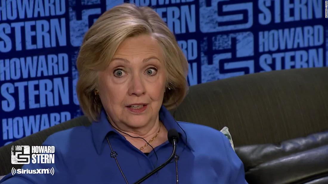 Hillary Clinton gets personal on Howard Stern show