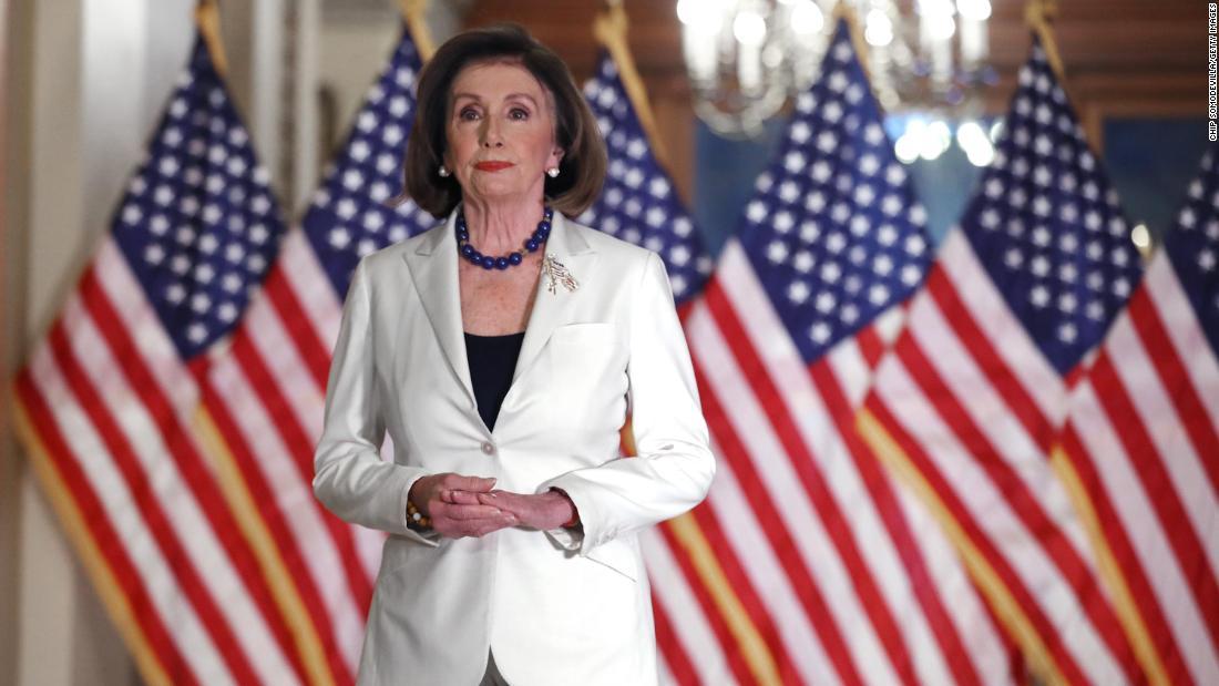 Nancy Pelosi just wrote Donald Trump's name in the history books