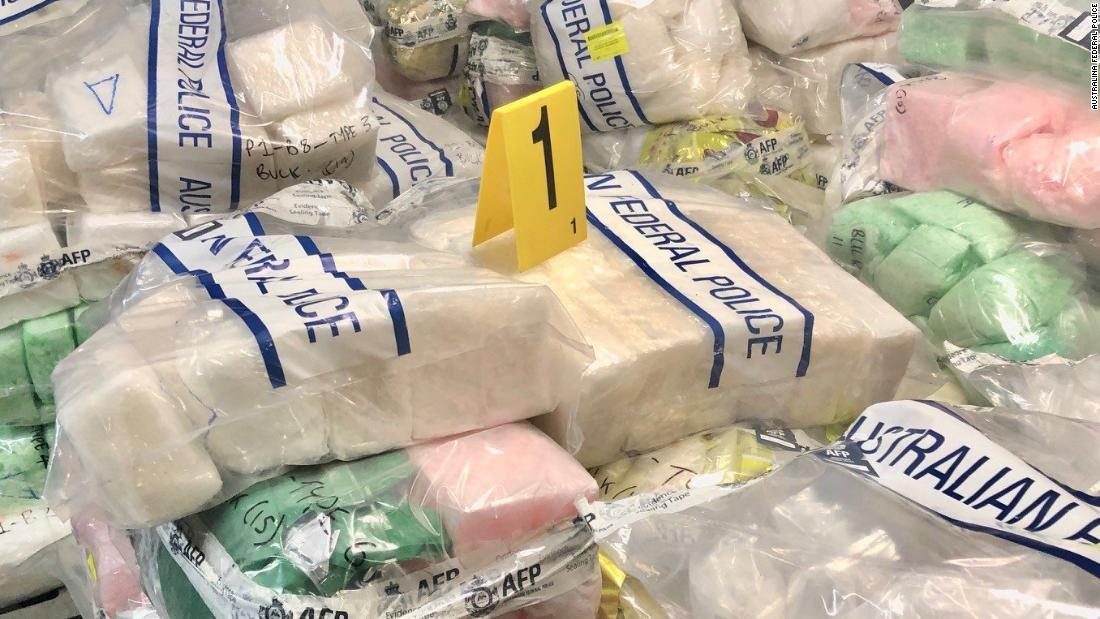 Australia seizes record-breaking $830 million in methamphetamine and heroin