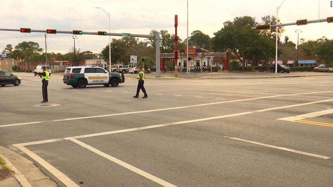 Pensacola shooting: 3 dead and several injured at Naval Air Station