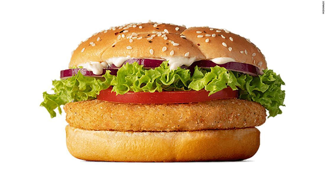 McDonald's New Zealand's McVeggie burger is not strictly vegetarian