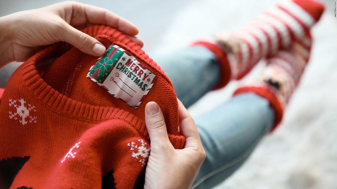 Christmas sweaters are adding to plastic pollution, environmental charity says