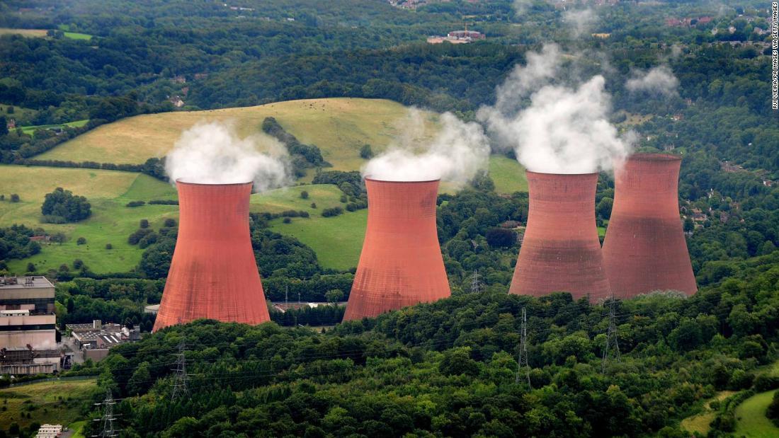Ironbridge power station cooling towers demolished