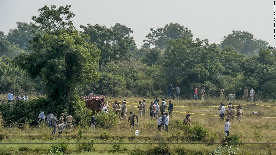 Hyderabad case: Four suspects in rape case shot dead in police encounter