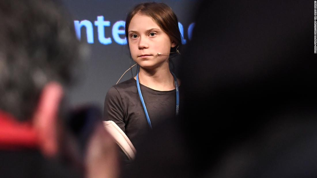 Greta Thunberg criticizes world leaders' climate actions as they meet at COP25 to discuss the crisis