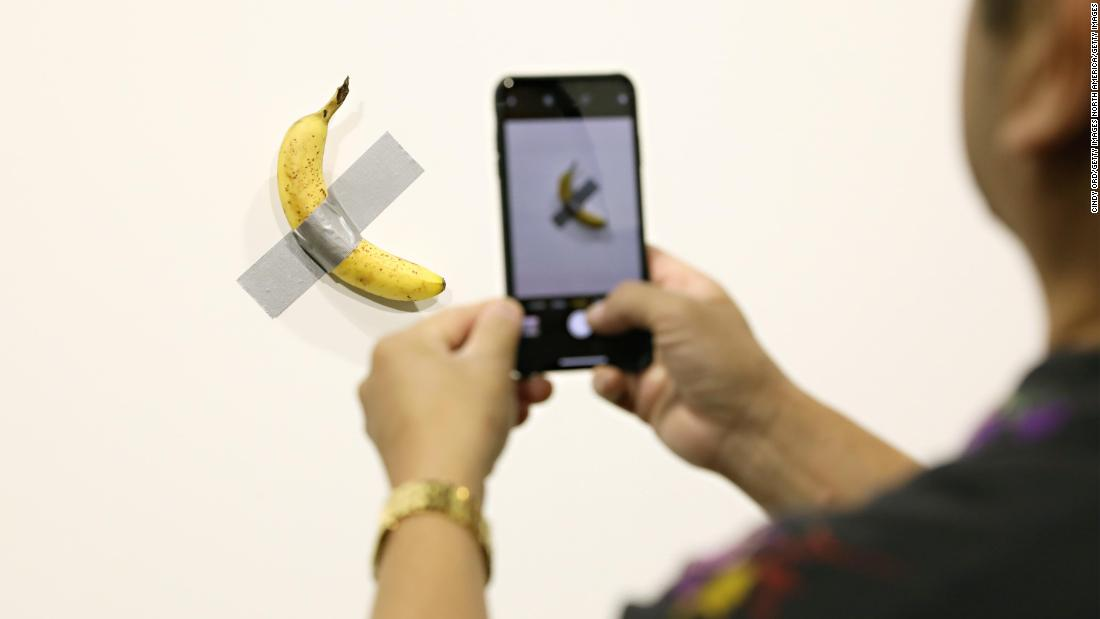 Miami banana duct taped to wall: Someone ate a $120,000 exhibit
