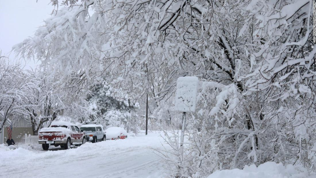 Elderly couple found dead buried under snow, police say