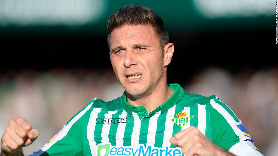 Joaquin, 38, scores La Liga hat-trick to beat Di Stefano record