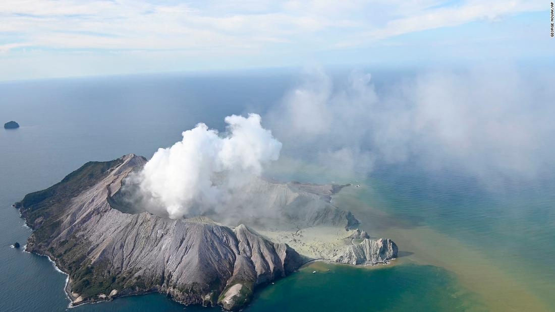 White Island volcano: eruption in New Zealand leaves at least five dead: Live updates