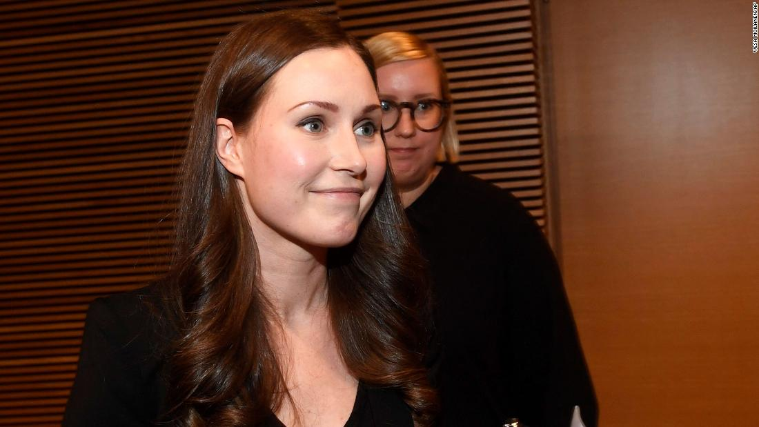 Finland's Sanna Marin to become world's youngest serving prime minister at 34 years old