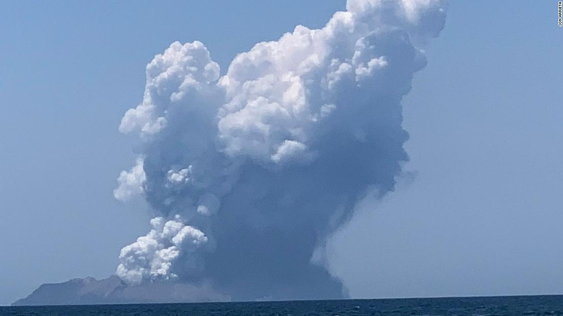 Many dead after volcano erupts in New Zealand