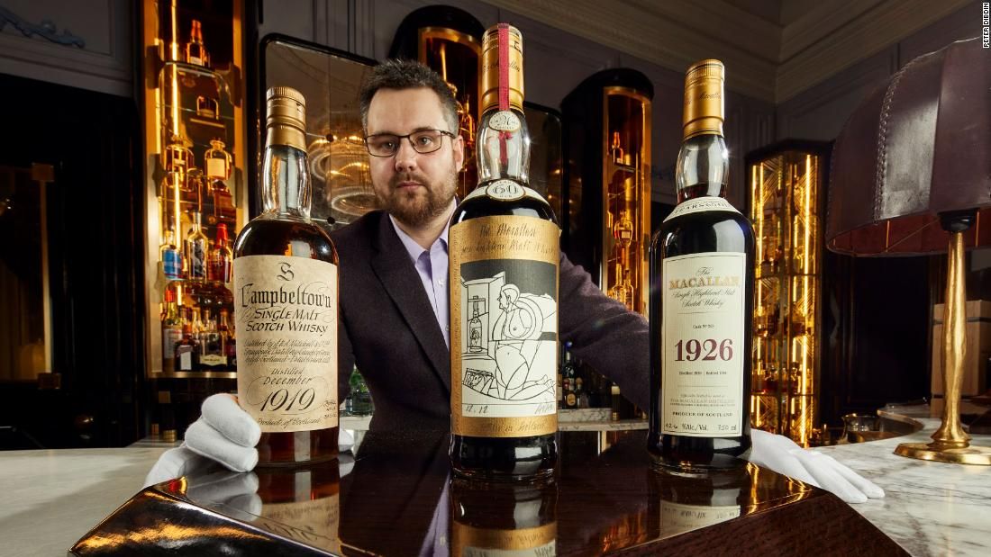 'World's largest' Scotch whisky collection could fetch $10.5 million at auction
