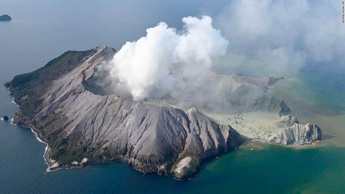 Volcano erupts on New Zealand's White Island
