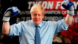Boris Johnson grabs reporter's phone and dodges question on shocking ER photo