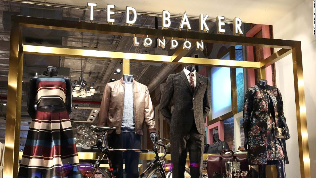 Ted Baker CEO Lindsay Page resigns as profits slump