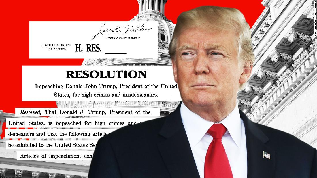 The articles of impeachment against President Trump, annotated