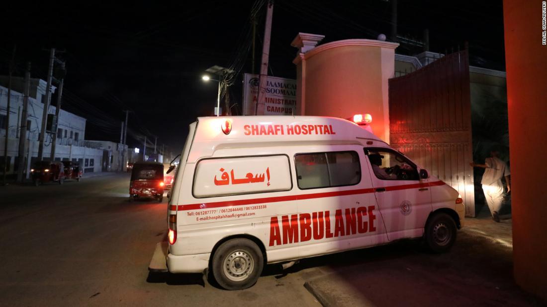 Mogadishu hotel targeted by armed gunmen