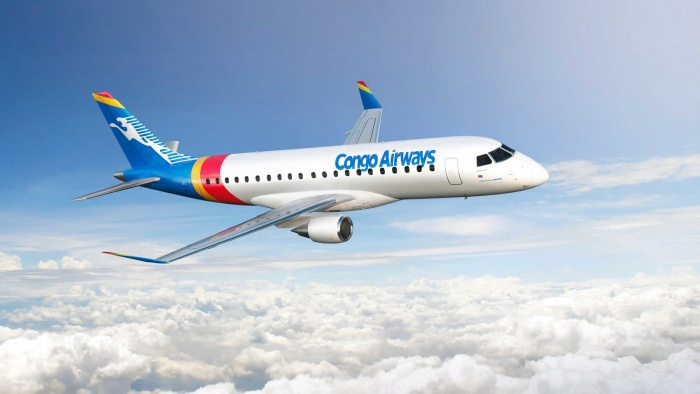 Congo Airways places new E175 order with Embraer   News