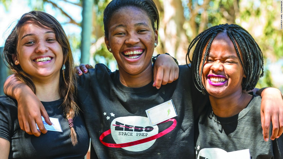Girls to design Africa's first private space satellite